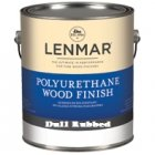 Lenmar Polyurethane Dull Rubbed Quart