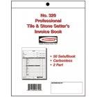 Pro Tile & Stone Invoice Book