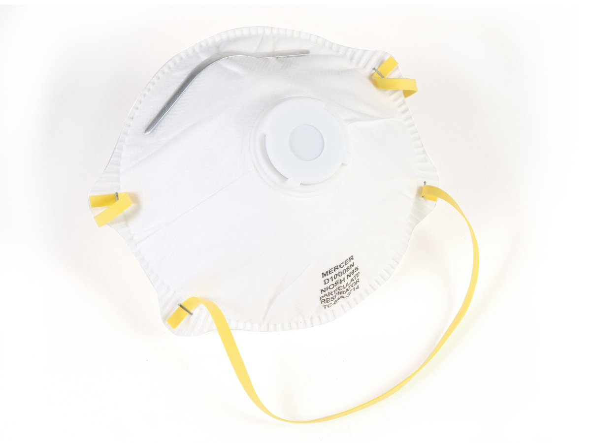 N95 Valved Particulate Respiratiors