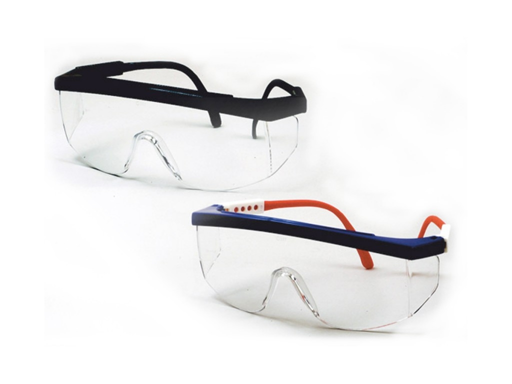 Perforated Safety Goggles - 1 Pair