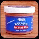 Pre-finish Woodwise 7.5 oz Jars Red Oak Tone