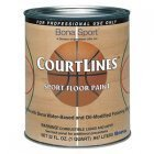 Bona CourtLines Sport Floor Paint - CASE OF 4 - Gray Quart